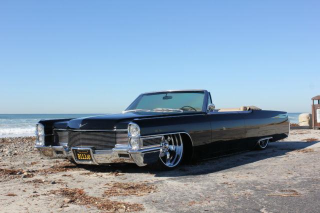 1965 Cadillac Convertible Black Beauty Custom