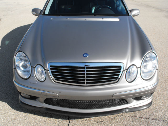 2003 MERCEDES E55 AMG SUPERCHARGED MODIFIED MUST SEE W211 ***