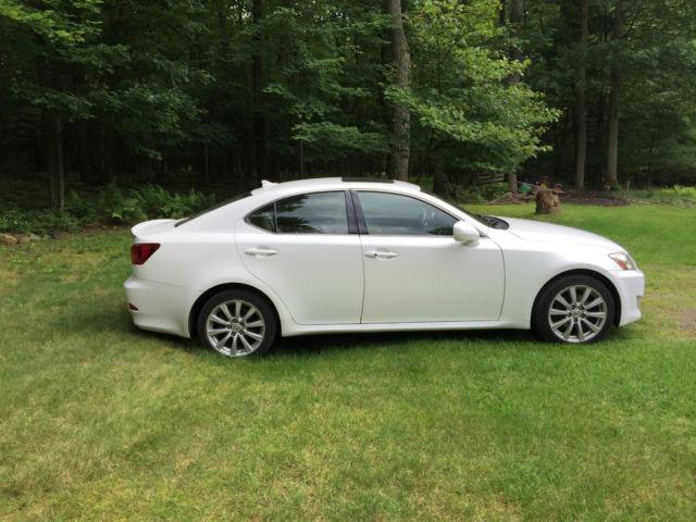 lexus is 250 2008 white. 2008 lexus is 250 4dr sport sedan automatic awd is white