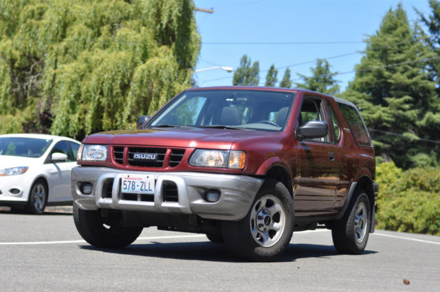 Fun Car - 2002 Isuzu Rodeo Sport S Sport Utility 2-Door 2 2L !*