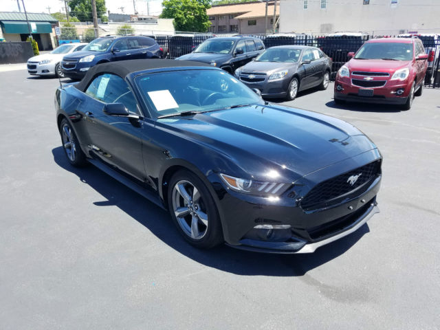 2015 ford mustang 2015 ford mustang convertible - 2015 Ford Mustang Black Convertible
