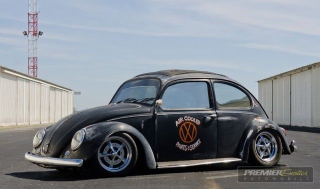 Vw Bug Patina Hot Rod Beetle