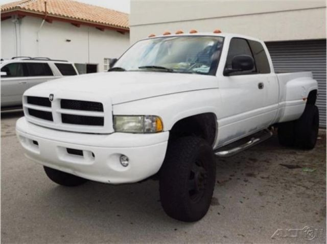 2000 Dodge Ram 3500 St Manual 5 Sd Crew Cab 4x4 Lifted