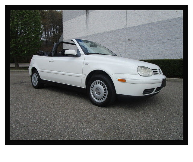 01 vw cabrio convertible white clean low miles vehicles markets com