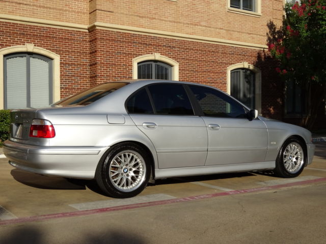 03 BMW 530I SPORT PKG MSTEERING WHEEL TX MINT CONDITION DRIVES
