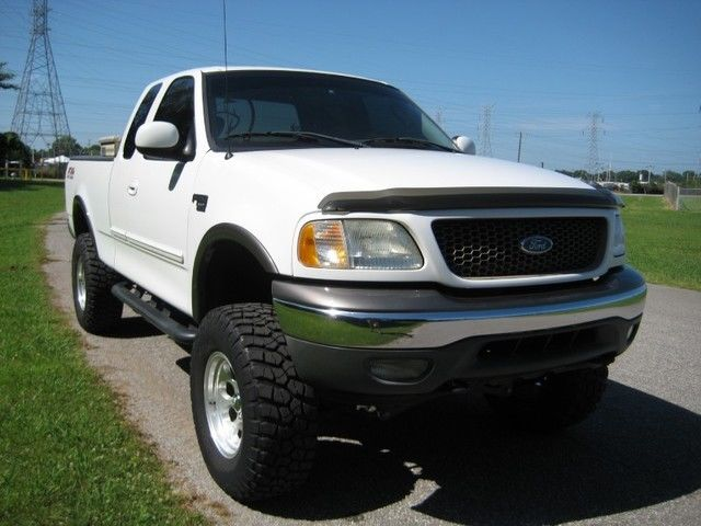 03 f150 xlt ext cab 4x4 fx4 lifted mickey thompson wheels and tires. Black Bedroom Furniture Sets. Home Design Ideas
