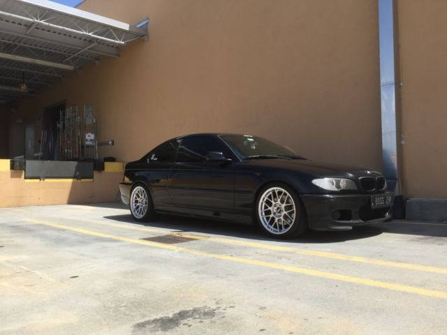04 BMW 330ci ZHP Black SapphireBlack 6MT ARC8s 346 Diff