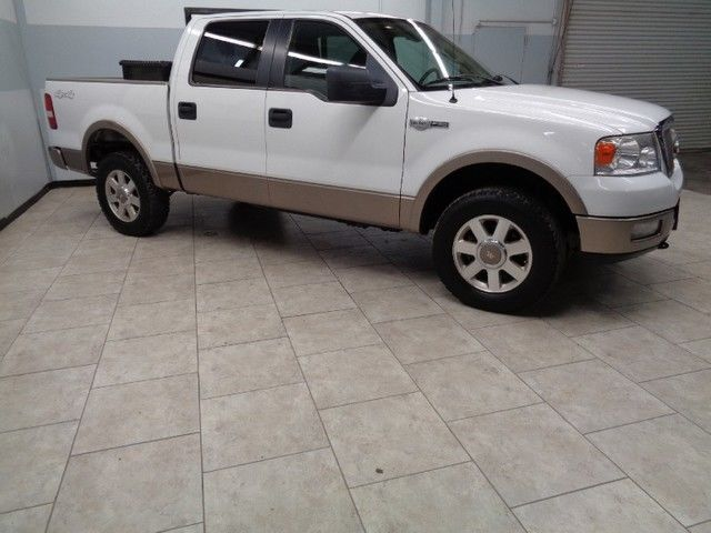 05 F150 King Ranch 4x4 Crew Cab Leather Heated Seats Sunroof We Finance Texas