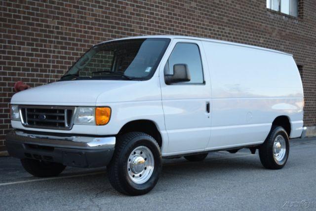 Ford E E Xl Super Duty Cargo Van L Powerstroke Power Stroke Diesel