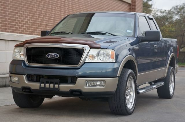 05 Ford F150 Lariat Extended Cab 4x4 2 Owners Tx Truck Accident Free Carfax Cert