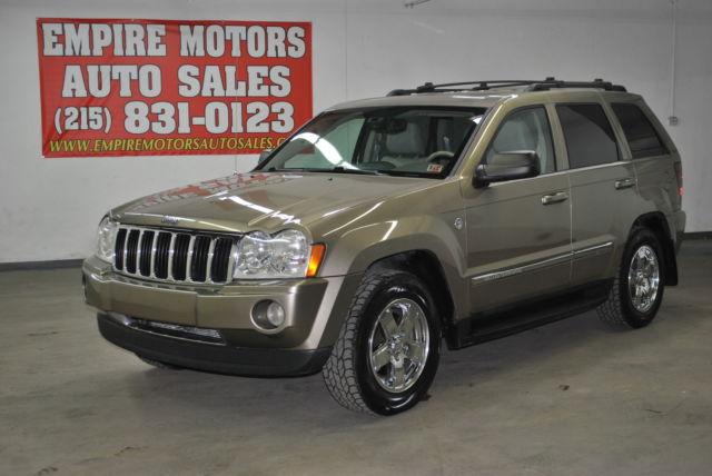 05 jeep grand cherokee limited 5.7l v8 hemi 4wd leather/navi loaded