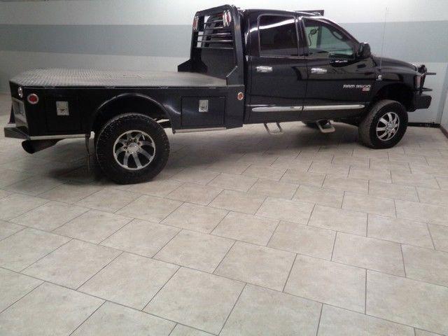 05 ram 3500 4x4 flatbed 5 9 cummins diesel 6spd wheels lift we finance texas. Black Bedroom Furniture Sets. Home Design Ideas