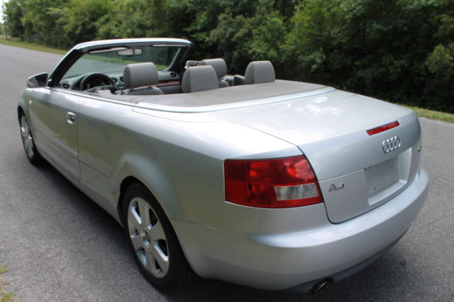 06 Audi A4 Cabriolet 1 8t Turbo Convertible Has Dents 05 04 03 07 Runs Great