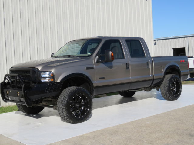 Ford Fx4 For Sale >> 06 F250 Lariat 6.0L Powerstroke FX4 Lifted S&B MBRP 20X35 Carfax HD-bumper TX