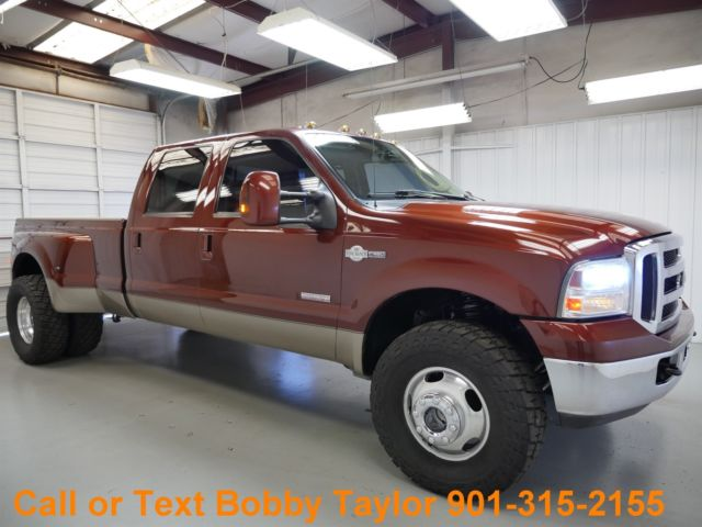 Mt Moriah Auto Sales >> 06 F350 King Ranch Dually 4X4 Diesel Lifted 35's EGR Delete Quad Captains Chairs