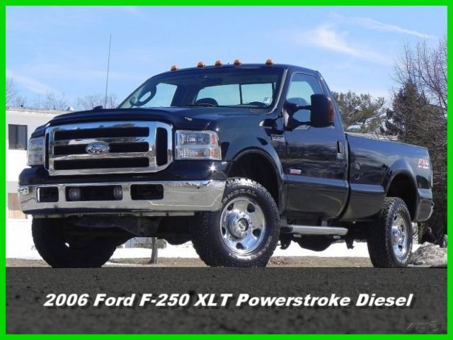 06 Ford F 250 F250 Xlt Regular Cab Truck 4x4 6 0l Power