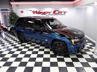 07 chevy trailblazer ss 6 0 awd 22 wheels custom paint. Black Bedroom Furniture Sets. Home Design Ideas