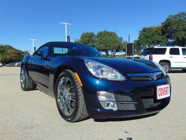 Covert Gmc Austin >> 07 Convertible Saturn Sky Manual Chrome Wheels Leather ONE OWNER Extra Clean