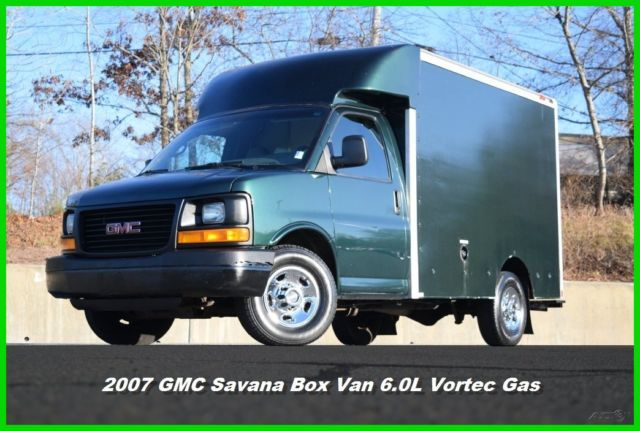 07 GMC Savana Cutaway Work Van 6.0L Vortec Gas Chevy ...