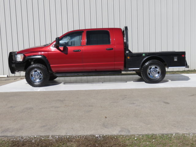07 ram 2500 slt mega cab 4x4 6 7 cummins 6spd at cm flat. Black Bedroom Furniture Sets. Home Design Ideas