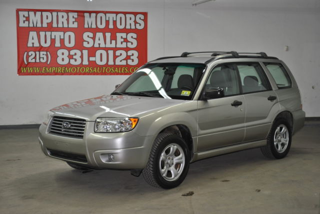 07 subaru forester 2 5x awd 5 speed manual only 83k miles one owner rh veh markets com subaru forester 2007 service manual pdf subaru forester 2007 manual pdf