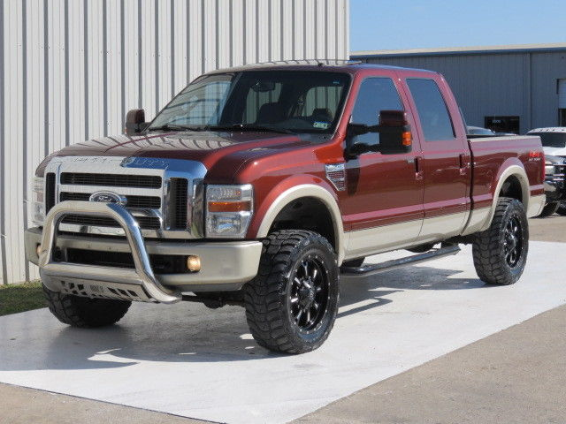 08 f250 king ranch 6 4 powerstroke 4x4 sunroof intake 20s. Black Bedroom Furniture Sets. Home Design Ideas