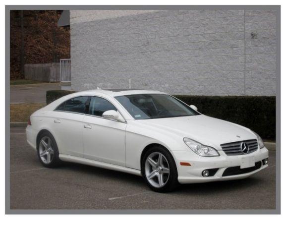 08 mercedes cls 550 amg sport navigation keyless go for Mercedes benz smithtown ny