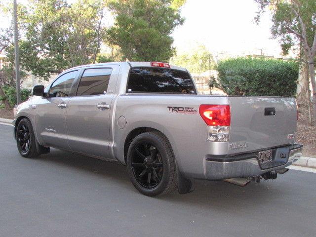 08 Toyota Tundra crew max 2wd grey lowered on 22 inch KMC ...