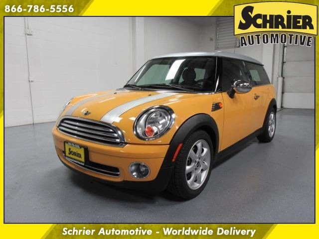 09 Mini Clubman Fwd Mellow Yellow Good Tires Paddle Shifters