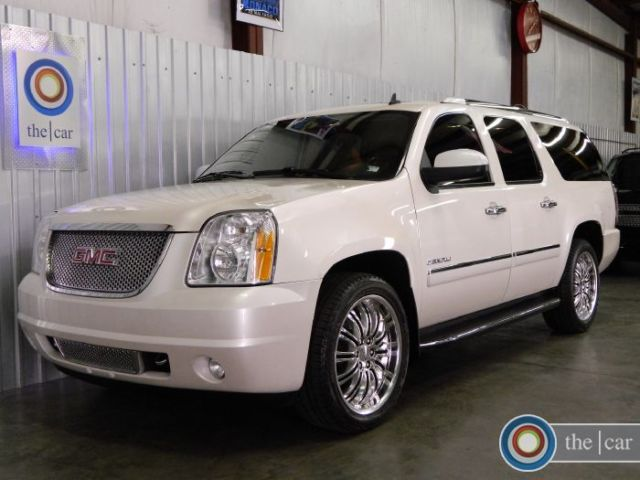 09 Yukon Xl Denali Awd Nav Dvd Tv Quad Roof 22s 1 Ownr Loaded Maintained Clean