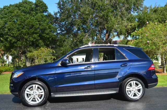 1 Owner Low Mileage 2014 Mercedes Benz M Class Ml350 P1
