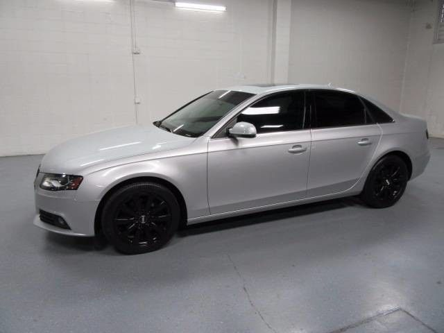 Heated Floor Mats For Cars >> 11 Audi A4 Silver AWD Tinted Windows Turbocharged Black Wheels Heated Seats