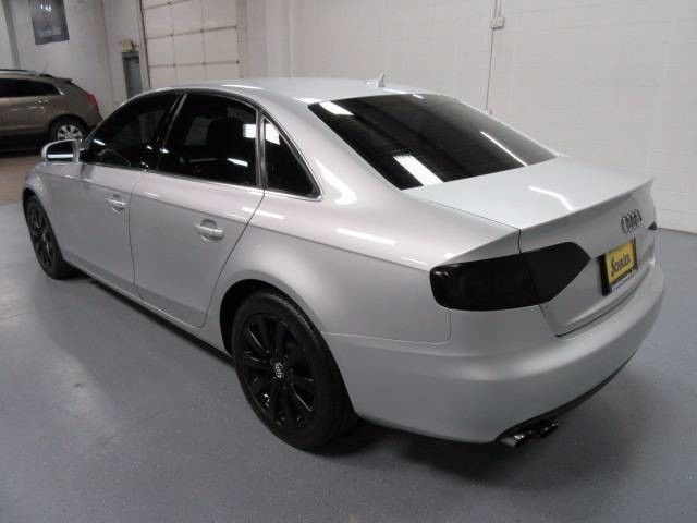 11 Audi A4 Silver Awd Tinted Windows Turbocharged Black