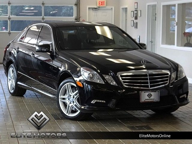 11 mercedes benz e550 4matic sport awd sedan amg sport for Mercedes benz e550 4matic
