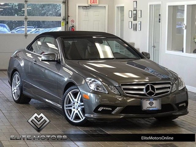 11 mercedes benz e550 cabriolet convertible amg sport for Mercedes benz e550 amg