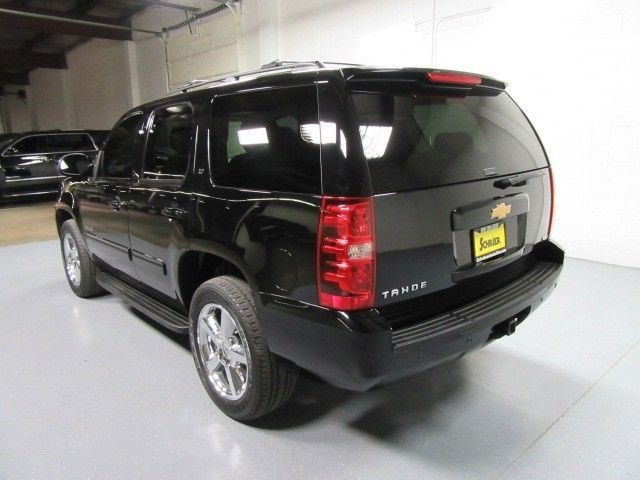 12 Chevy Tahoe Lt Black 4wd Power Lift Gate Heated Leather