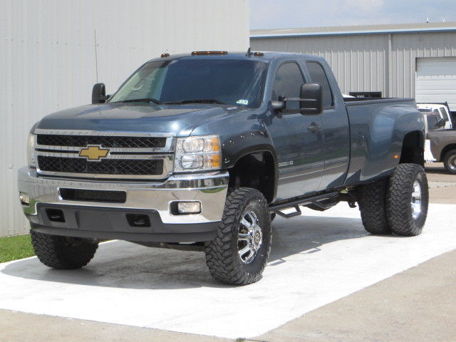 12 K3500HD LT 66 Duramax 4x4 Allison Pro Comp Lift HS 77K Leather 1 Own TX