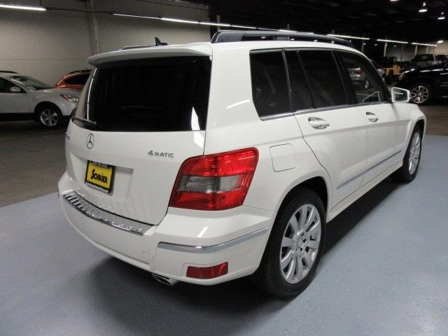 12 mercedes glk350 white awd wood trim power lift gate for Mercedes benz homelink