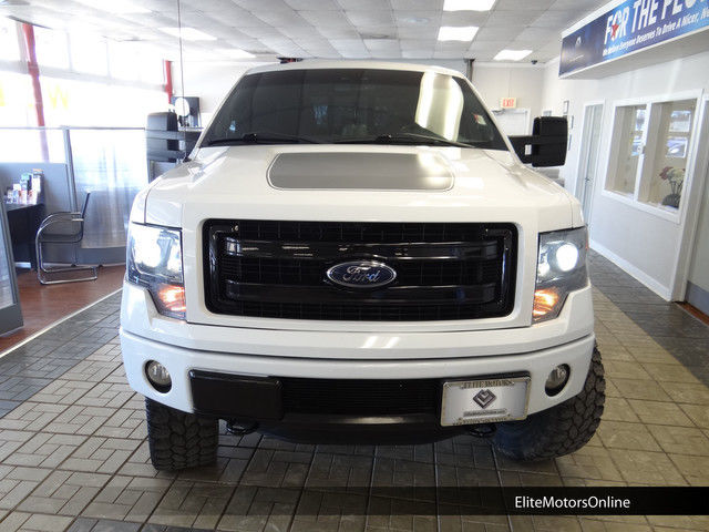 13 Ford F150 Fx4 Crew Cab 4x4 Lifted Lux Pkg Appearance