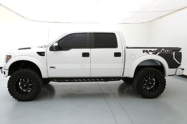 Used Ford Raptor >> 13 Ford Raptor SVT Roush Phase 2 4 Inch Fabtech Lift 20 Inch Fuel Wheels