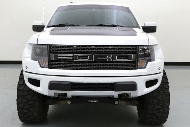 Ford Raptor Svt Roush Phase Inch Fabtech Lift Inch Fuel Wheels
