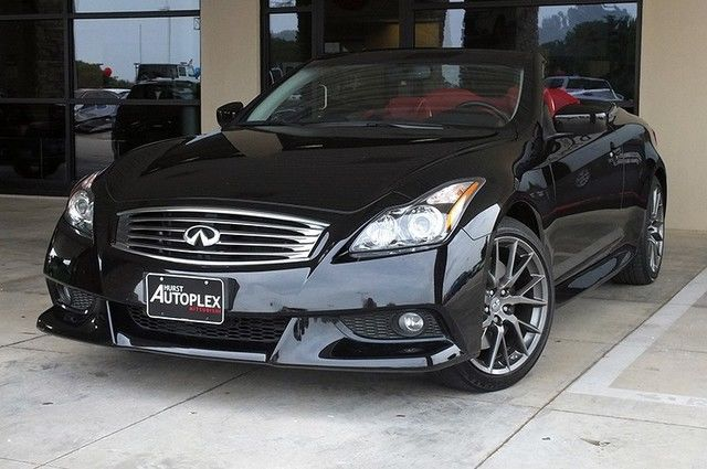 13 G37 Convertible Red Leather IPL Package Navigation ...