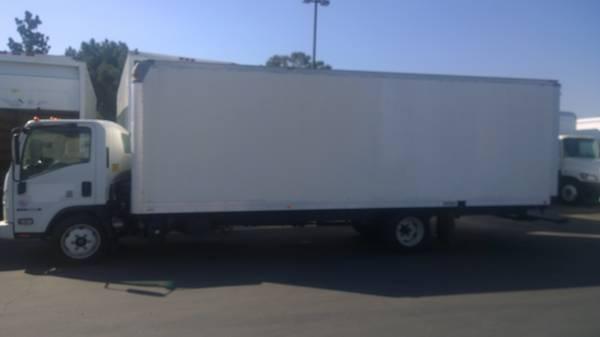 13 Isuzu NRR 24ft box Truck hino 195 npr nqr mitsubishi fuso nissan