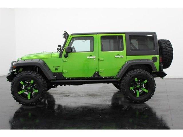 14 Jeep Wrangler Unlimited Rubicon 4x4 Hemi Conversion