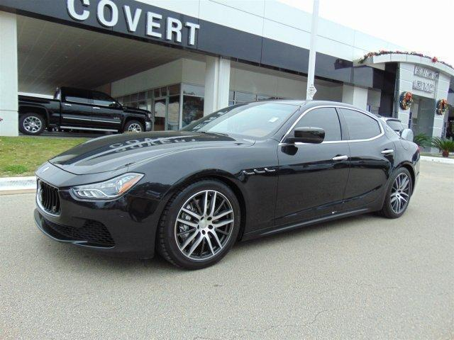 14 maserati ghibli s q4 twin turbo awd sedan leather one owner warranty. Black Bedroom Furniture Sets. Home Design Ideas