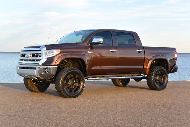 Tundra Lift Wheels Bronze Mica Bushwacker Rockstar Trd Hd Pro Not