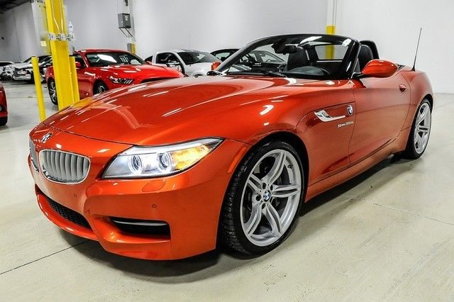 14 Z4 Sdrive35is Valencia Orange Technology 19 Wheels