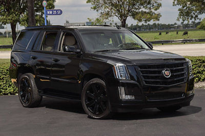 15 Cadillac Escalade Luxury Pkg 420 Hp Blacked Out