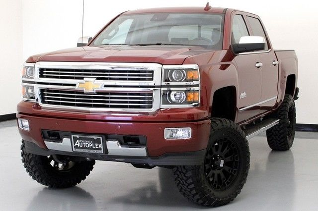 6 Inch Lift Kit For Chevy 1500 4wd >> 15 Chevy Silverado High Country 6 Inch Pro Comp Lift 20 Inch XD Wheels NAV