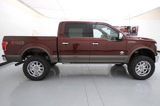 15 Ford F150 6 Inch Skyjacker Lift 20 Inch Chrome XD ...